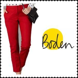 Boden Bistro Crop Pants Trousers Size 10R